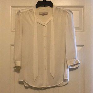 Loft- Long sleeve, flowy ,button down